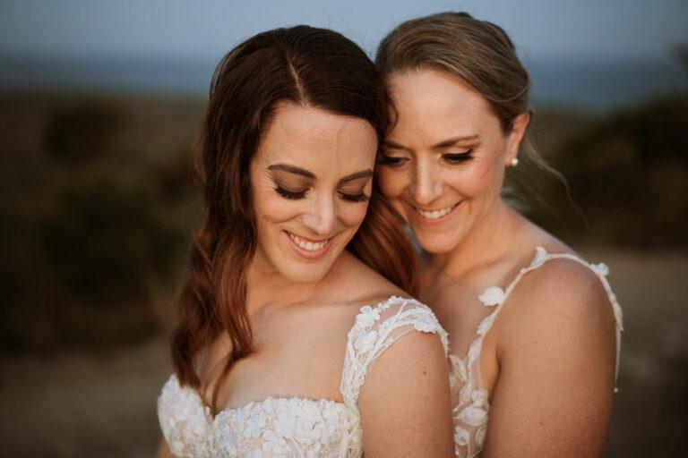 Bridal Photoshoot Sunshine Coast Same Sex Wedding